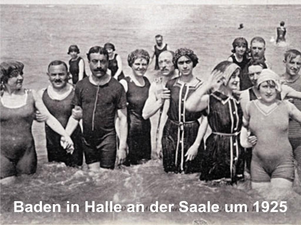 Baden in der Saale um 1920
